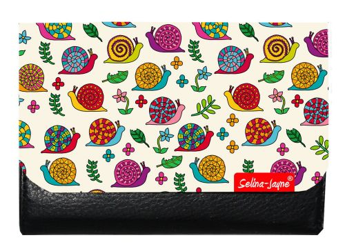 Selina-Jayne Snails Limited Edition Designer Small Purse